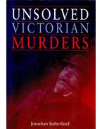 Unsolved Victorian Murders