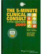 The 5-Minute Clinical Consult 2009