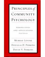 Principles of Community Psychology - Perspecitves and Applications