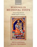 Readings in Medieval Texts - Interpreting Old and Middle English Literature