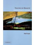 Values of Beauty - Historical Essays in Aesthetics