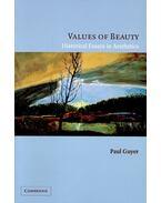 Values of Beauty - Historical Essays in Aesthetics
