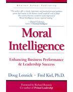 Moral Intelligence - Enhancing Business Performance & Leadership Success