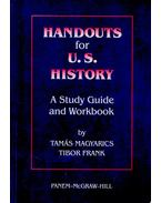 Handouts for U.S. History - A Study Guide and Workbook