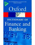 Dictionary of Finance and Banking (4th edition)