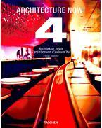 Architecture Now - Architectur Heute - L'architecture D'aujourd'hui