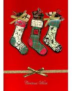 Christmas Stockings - Xmas Card