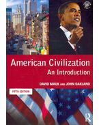 American Civilization - An Introduction (5th edition)
