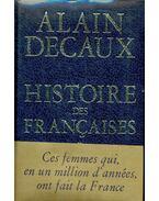 Histoire des Francaises