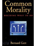Common Morality