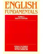 English Fundamentals, Form C - Eighth Edition
