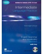 Language Practice - Intermediate - English Grammar and Vocabulary - 3rd Edition with key + CD