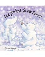 Are you lost, Snow Bear?