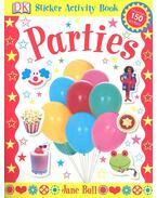 Parties Sticker Activity Book