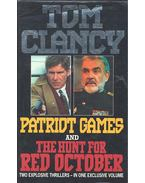 Patriot Games + The Hunt for Red October (Complete and Unabridged)