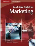 Cambridge English for Marketing - Student's Book with Audio CDs