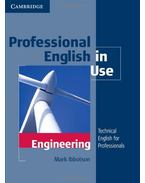 Professional English in Use:  Engineering - with Answers