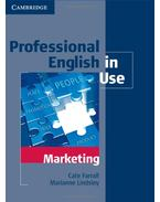 Professional English in Use - Marketing