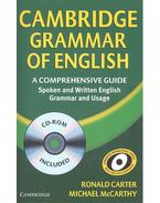 Cambridge Grammar of English - with CD ROM