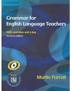 Grammar for English Language Teachers with exercises and key