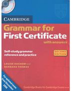 Camrbidge Grammar for First Certificate with Key and Audio CD