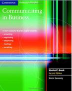 Communicating in Business - Student's Book
