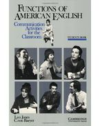 Functions of American English Student's Book: Communication Activities for the Classroom