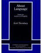 About Language - Tasks for Teachers of English (Cambridge Teacher Training and Development)