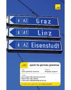 Teach Yourself Quick Fix German Grammar