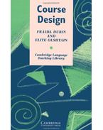 Course Design: Developing Programs and Materials for Language Learning