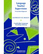 Language Teacher Supervision: A Case-Based Approach