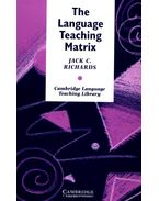 The Language Teaching Matrix: Curriculum, Methodology, and Materials