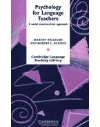 Psychology for Language Teachers: A Social Constructivist Approach