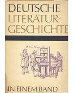 Deutsche Literaturgeschichte in einem Band