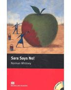 Sara Says No! - CD - Level 1 - Starter