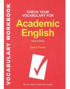 Check Your Vocabulary for Academic English - 3rd Edition