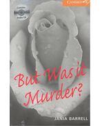 But Was It Murder? - CD - Stage 4 - Intermediate