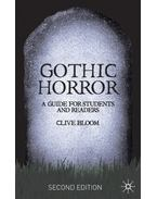 Gothic Horror: A Guide for Students and Readers
