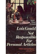 Not Responsible for Personal Articles