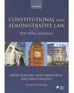 Constitutional and Administrative Law - Text with Materials 4th ed.