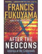 After the Neocons - America at the Crossroads
