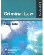 Criminal Law Textbook 2nd edition