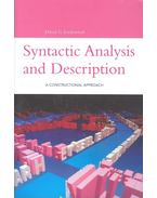 Syntactic Analysis and Description - A Constructional Approach