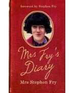 Mrs Fry's Diary