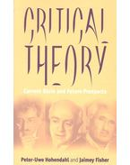 Critical Theory - Current State and Future Prospects