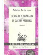La Casa de Bernarda Alba - La Zapatera Prodigiosa