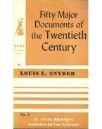 Fifty Major Documents of the Twentieth Century #5