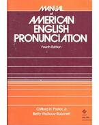 Manual of American English Pronunciation