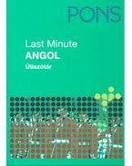 Last Minute Angol - Útiszótár