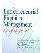 Entrepreneurial Financial Management - An Applied Approach